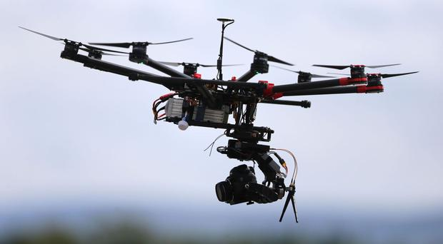 The report stated that the drone was