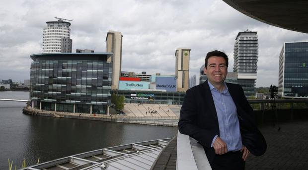 Andy Burnham hopes to be mayor of Manchester