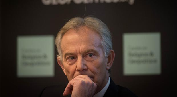 Tony Blair advocated a ground war