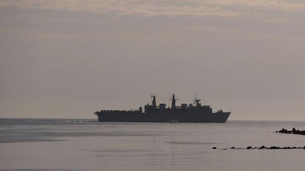 HMS Bulwark was deployed to the Mediterranean last May