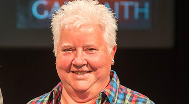 Val McDermid said she would not follow Leave campaigners Nigel Farage, Boris Johnson and Michael Gove 'out of a burning building'