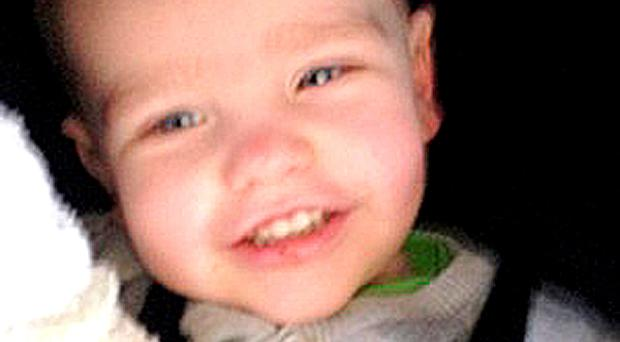 Two-year-old Liam Fee. Photo: Police Scotland/PA Wire