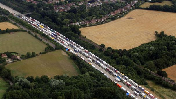 More justification is needed from the Government over plans to build a giant lorry park for use when cross-Channel services are disrupted