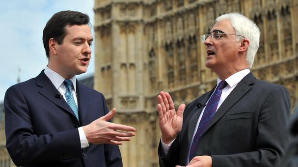 George Osborne and Alistair Darling have joined forces