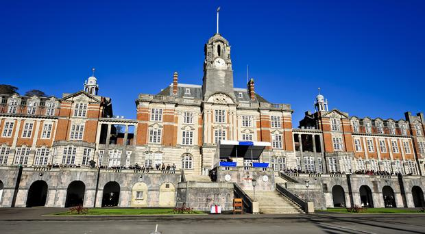 The offences are alleged to have taken place at the Britannia Royal Naval College in Dartmouth