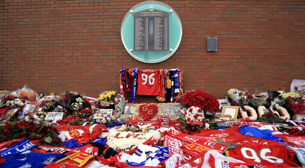 A total of 96 Liverpool fans were killed in the Hillsborough disaster in 1989