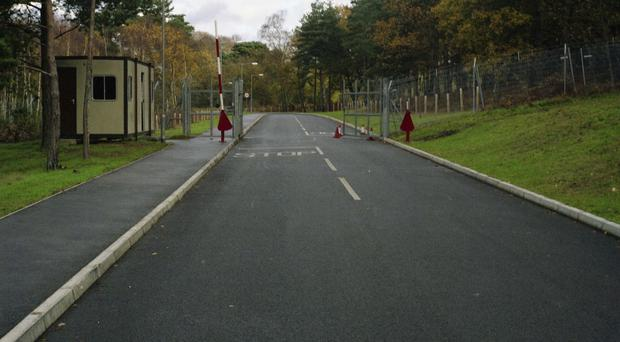 The Royal Way Gate where Private Cheryl James was on guard duty on the morning of her death (Ministry of Defence Police/PA)