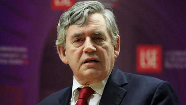 Gordon Brown is among the former Labour leaders warning that voters cannot afford to opt out of the EU