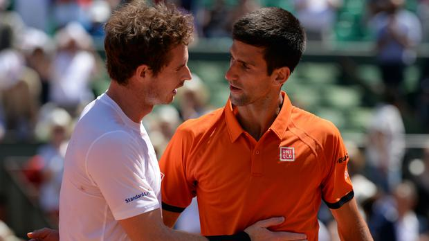 Both Andy Murray, left, and Novak Djokovic are hungry for their first French Open title