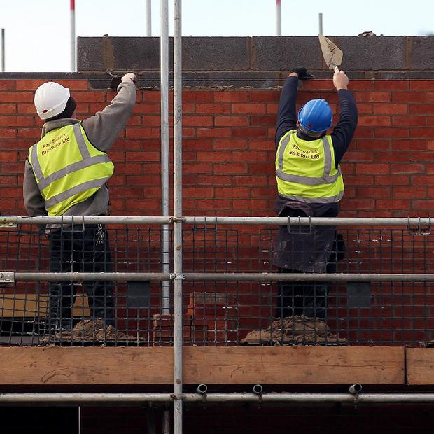 The Construction Employers Federation (CEF) survey today reports that around 20% of building firms here are operating at less than half capacity