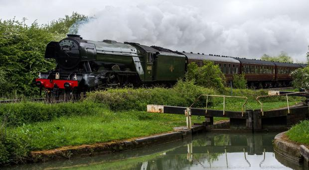 The Flying Scotsman underwent a major refit before going on a trial run when enthusiasts trespassed on the tracks