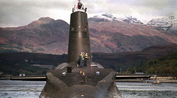 The Ministry of Defence Police faces a potential further reduction of 15 per cent in its workforce and possibly being axed from guarding Trident warheads