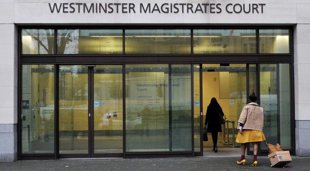 Avni Metra spoke through an interpreter at Westminster Magistrates' Court