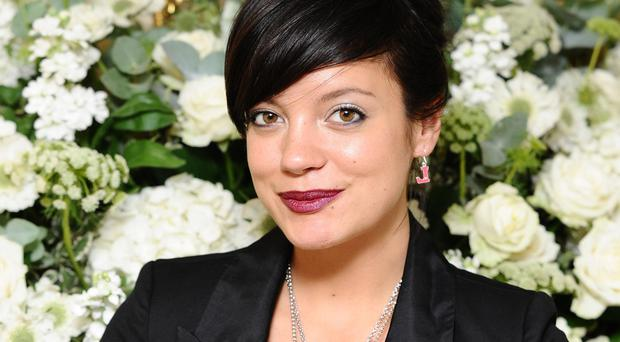 Lily Allen told the court she was scared for her children's safety.