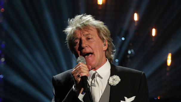 Rod Stewart has received a knighthood for his services to music and charity