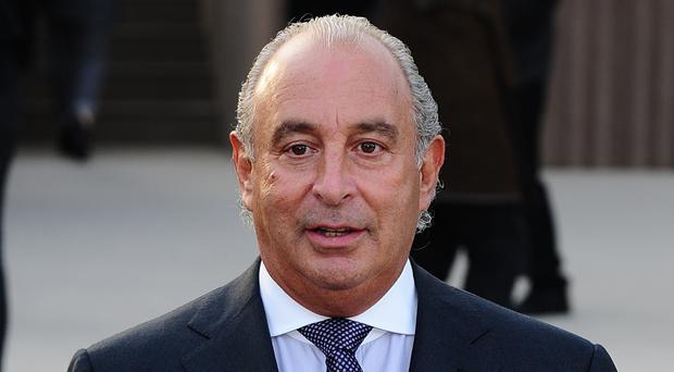 Sir Philip Green was due to give evidence to MPs on Wednesday