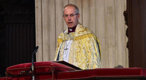 Archbishop of Canterbury Justin Welby has thrown his weight behind the campaign to remain in the EU