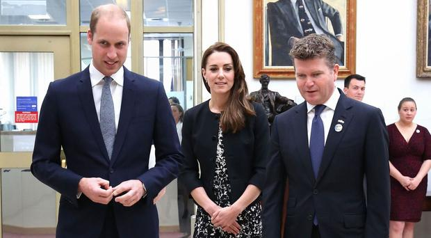 The Duke of Cambridge visited the US Embassy in London with wife Kate on Tuesday to sign a book of condolence for the victims of the Orlando club massacre