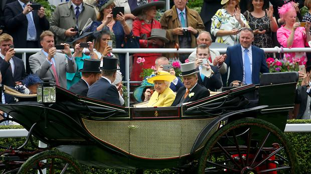 There is concern over the royal carriage getting stuck in mud