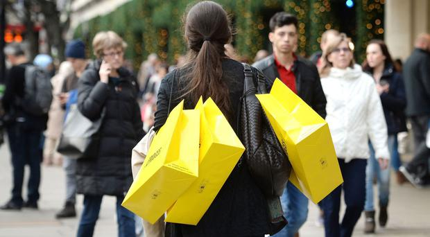 The Office for National Statistics (ONS) said the quantity of retail sales increased by 0.9% compared with April, and was up by 6% on the same time last year