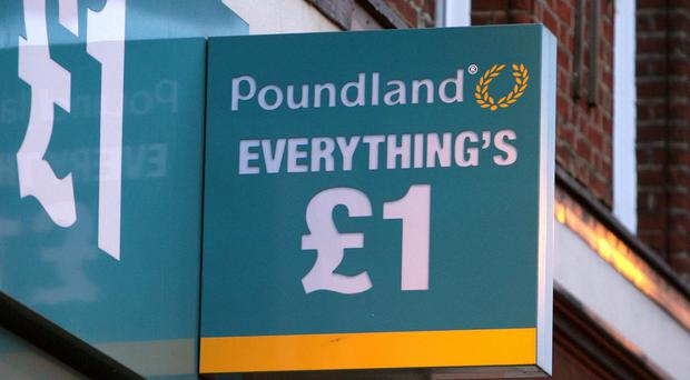 Poundland has had seen its shares slump by a third in a year following tough trading and a difficult takeover of rival 99p Stores