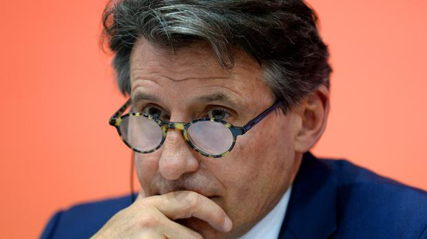 IAAF president Lord Coe is embroiled in fresh controversy