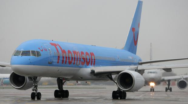 A Thomson Airways plane had to divert to Gatwick