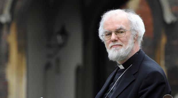 Rowan Williams says the UK cannot ignore the refugee crisis