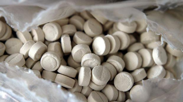 The three 12-year-olds are being treated in hospital after taking ecstasy