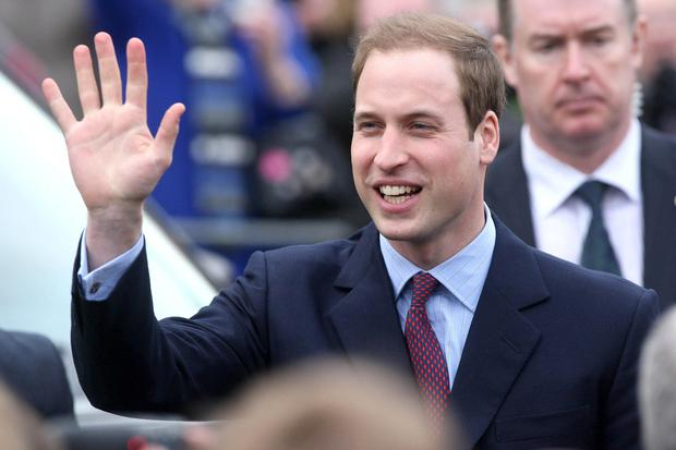 Backing drive: Duke of Cambridge
