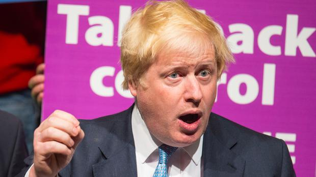 Boris Johnson says UK voters are facing a