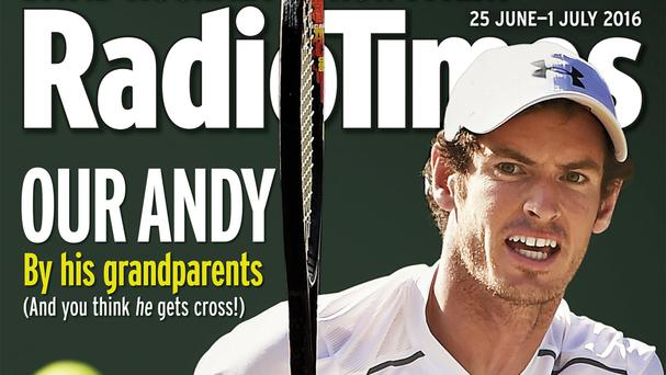 Andy Murray features on the front cover of this week's Radio Times (Radio Times/PA Wire)