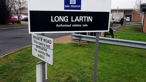 Long Lartin prison entrance