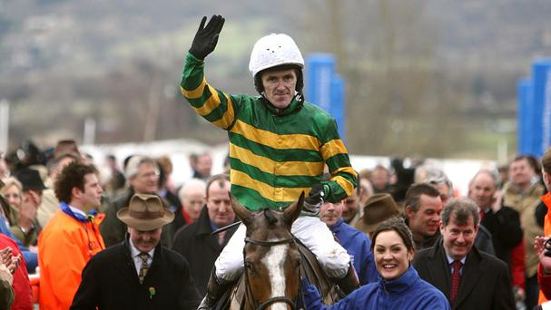 Record-breaking sportsman Tony McCoy (pictured) will become only the second jockey to be knighted, following Sir Gordon Richards in 1953