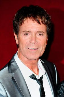 Anger: Sir Cliff Richard