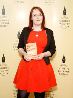 Author Lisa McInerney, who has won the Desmond Elliott Prize for her first novel