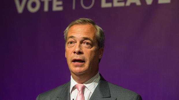 Ukip leader Nigel Farage pulls out of an eve of poll EU referendum debate due to family reasons