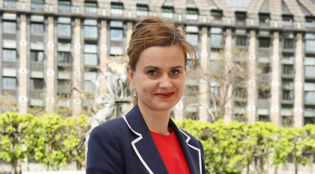 Jo Cox was shot and stabbed in Birstall