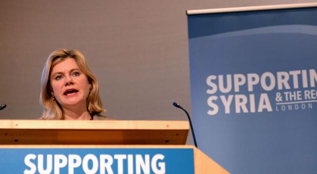 Justine Greening is the International Development Secretary