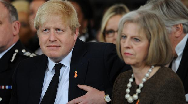 Boris Johnson and Theresa May are considered to be among the frontrunners to be next Conservative leader