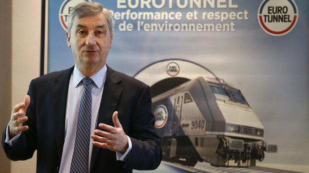 Eurotunnel chairman and CEO Jacques Gounon is preparing for waves of migrants trying to get into tunnel.