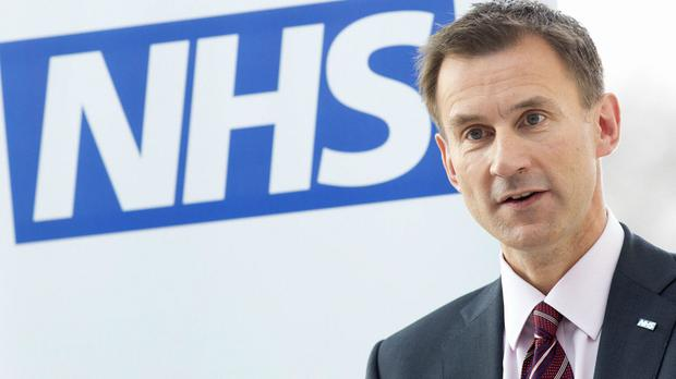 Health Secretary Jeremy Hunt wants a deal to be negotiated and put to the public