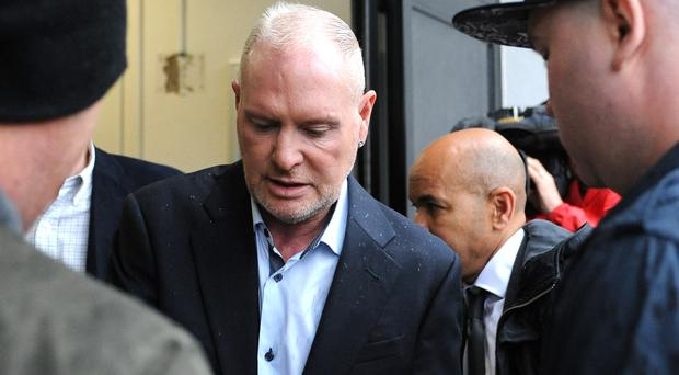 Paul Gascoigne is accused of racially aggravated abuse
