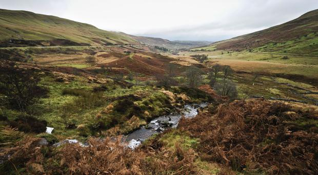 Mountain rescue teams are searching for a party of schoolchildren lost in the Brecon Beacons