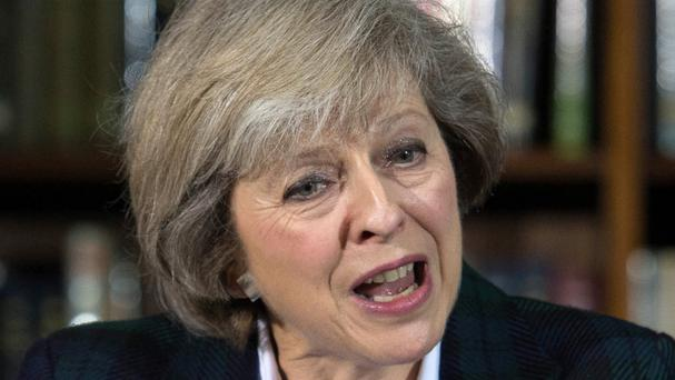 Home Secretary Theresa May hopes to succeed David Cameron in Downing Street