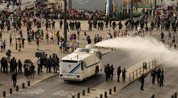 Water cannon are used in many foreign countries to control crowds, but the Home Secretary banned their use in London