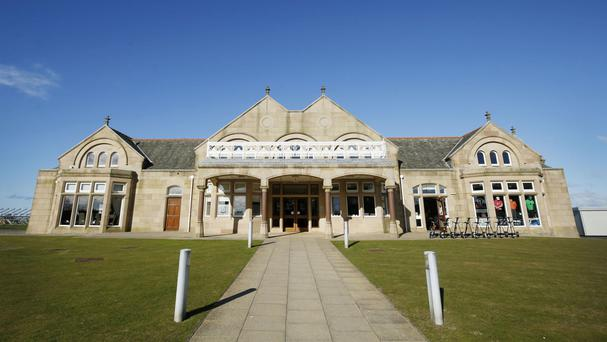 The Royal Troon Golf Club where members have voted to admit women