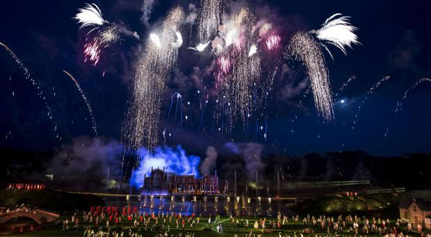 The outdoor live action show depicts 2,000 years of English history in 23 scenes (Kynren/PA)