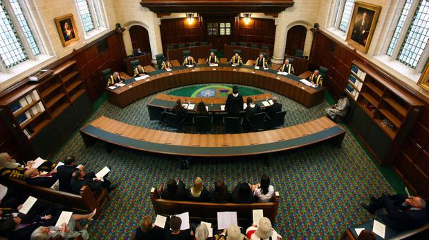 The Supreme Court is considering a transgender person's claim to be entitled to receive the female state pension