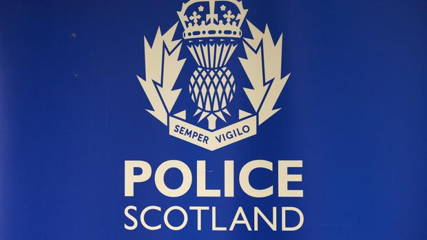 Two children died after the car they were travelling in crashed into a loch near Oban, Police Scotland said